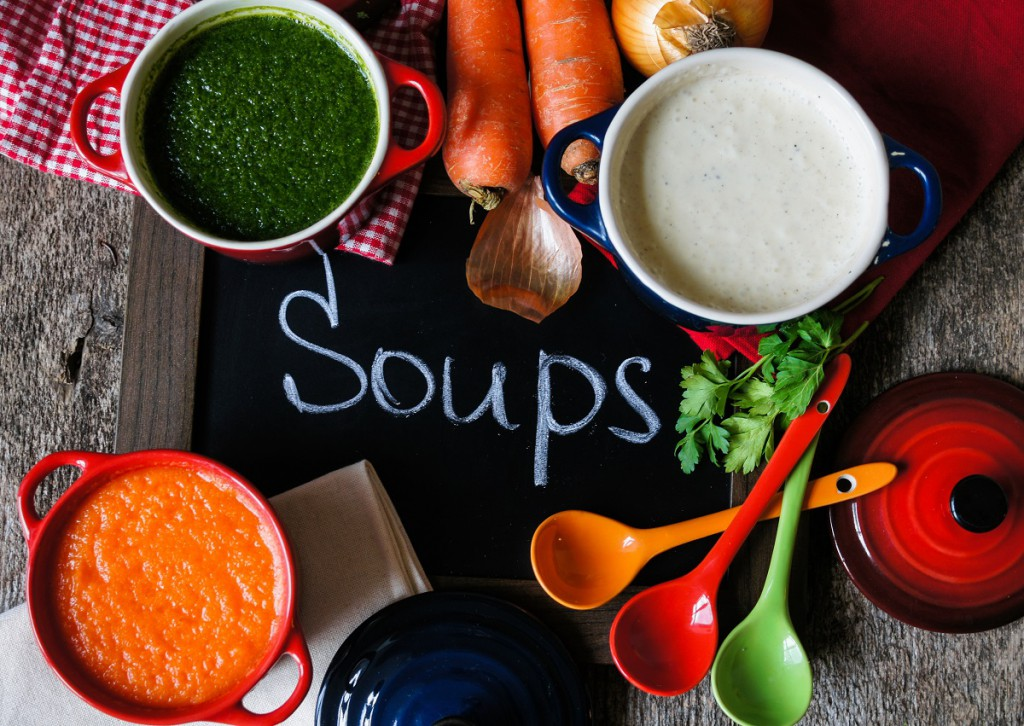 Für den kleinen Hunger: Griechische Gemüsesuppe