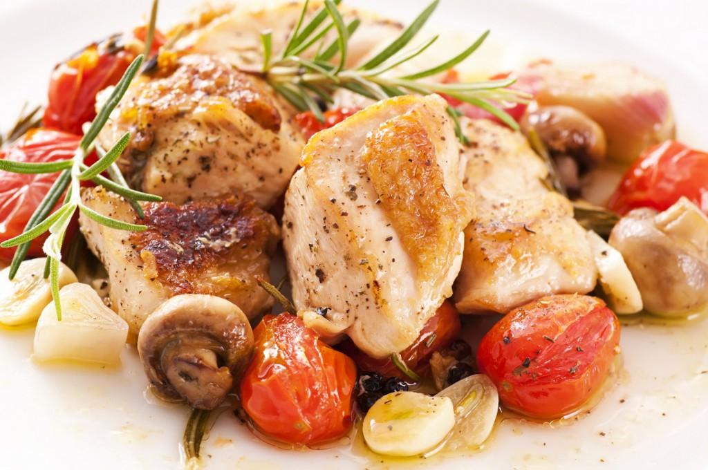 Hähnchengeschnetzeltes – die leckere Proteinbombe