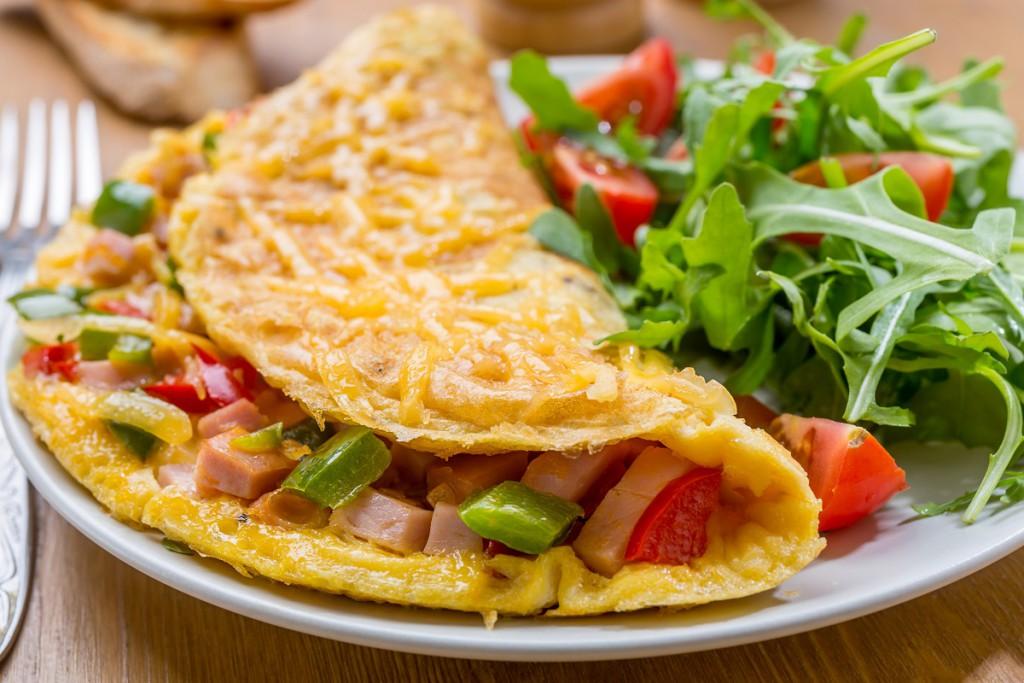 Omelett – das Sixpack-Frühstück