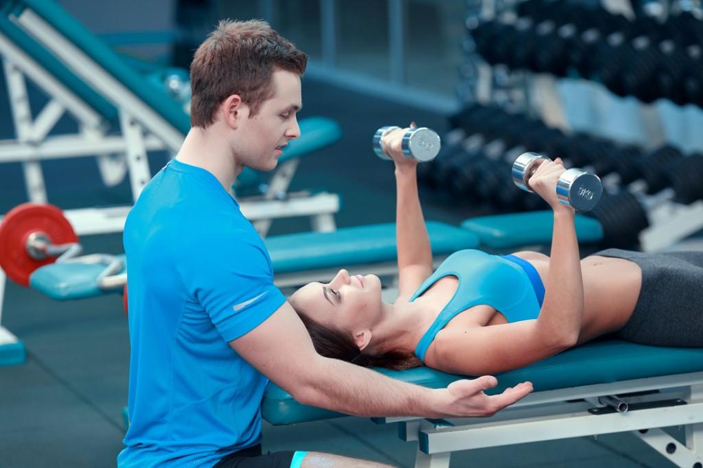 Wichtig: Denke an deinen Rücken beim Training!