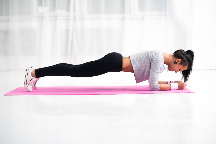 Planking Übung
