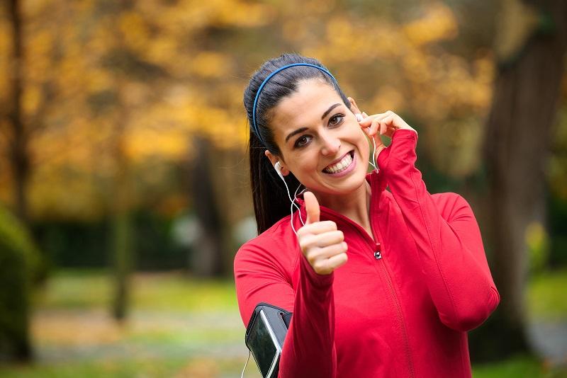 Laufen mit Musik ist bei vielen beliebt.   (c) Bigstockphoto.com: ID: 70212841/Dirima
