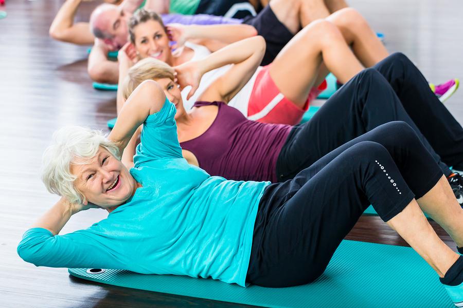 Durch Sport kann man den Muskelabbau im Alter entgegenwirken