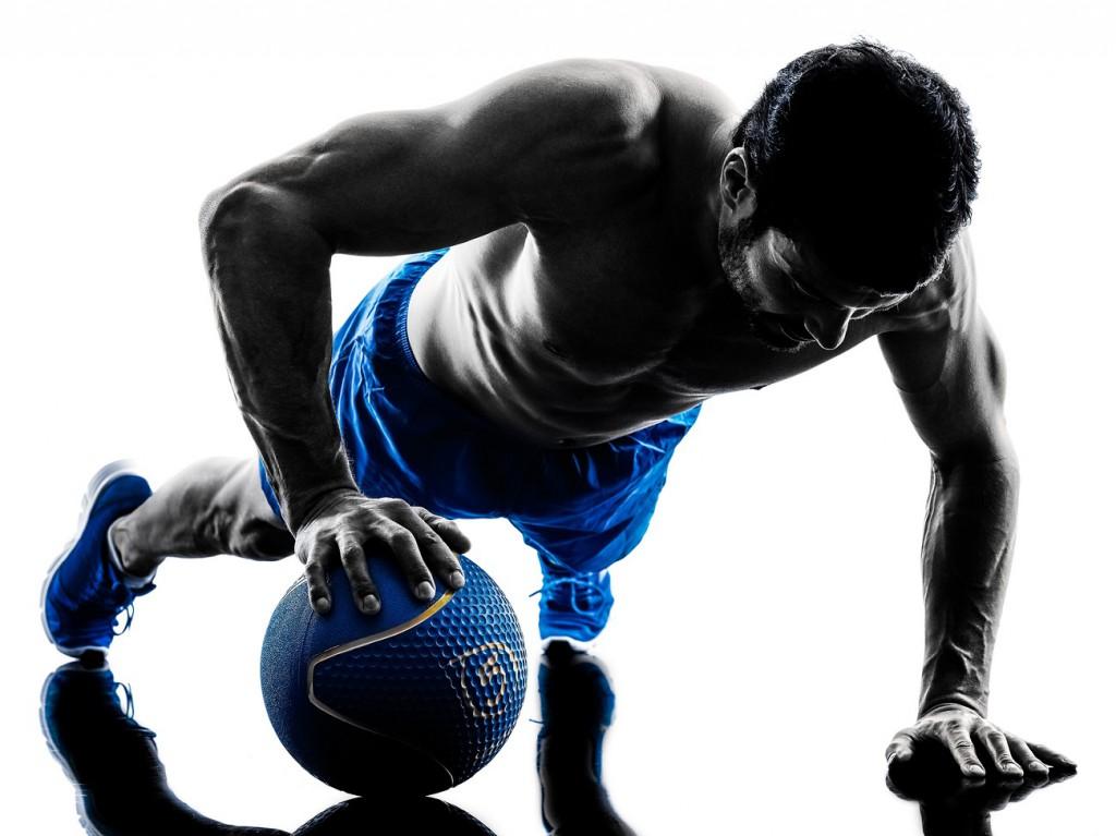 Training mit Medizinball