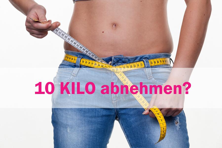 10 Kilo abnehmen – wie schnell ist das möglich?