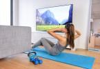 Seitliche Bauchmuskeln - Home Workout