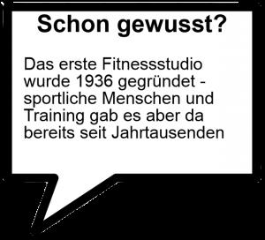 Fitness Fakten