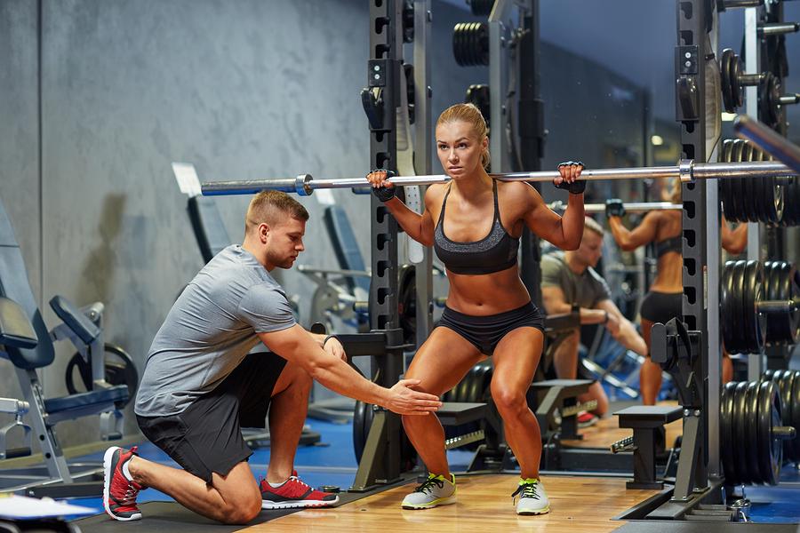 Training mit Coach