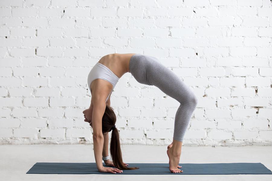 Yoga Übungen als Dehnübungen