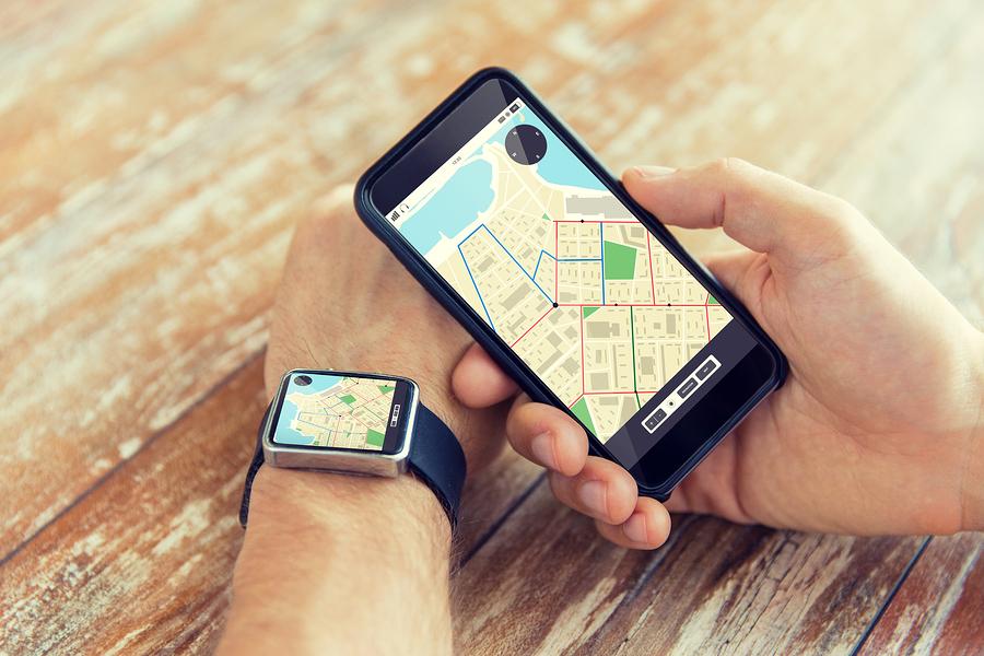 Pulsuhr mit GPS Funktion
