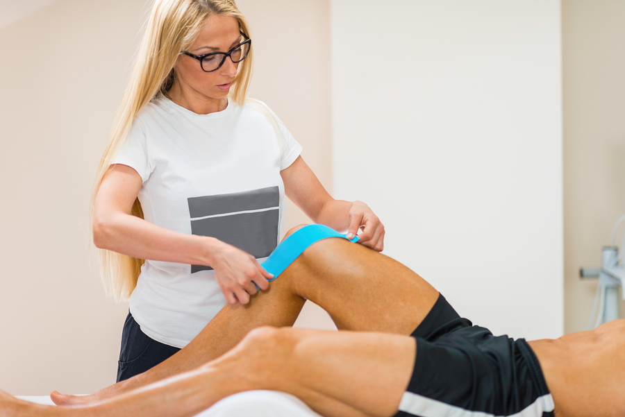 Kinesio Taping in der Physiotherapie
