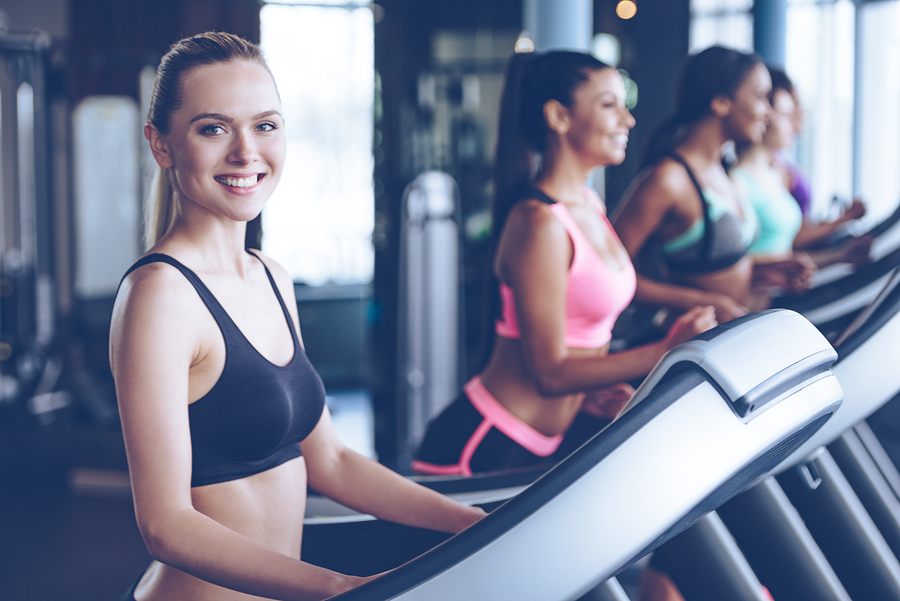 Laufband-Körperspannung