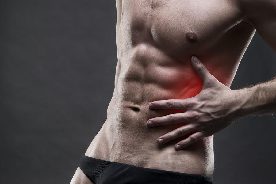 Muskelschmerz Bauchmuskel