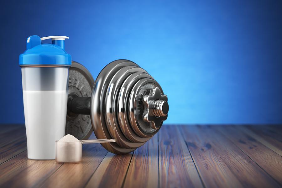 Glutamin fördert Muskelaufbau   I  ©Bigstockphoto.com: ID: 148897802/maxxyustas