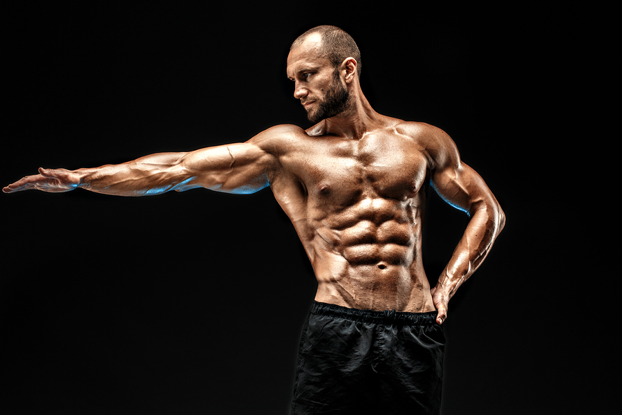 Ernährung beim Muskelaufbau  I ©Bigstockphoto.com: ID: 160482704/StMAK