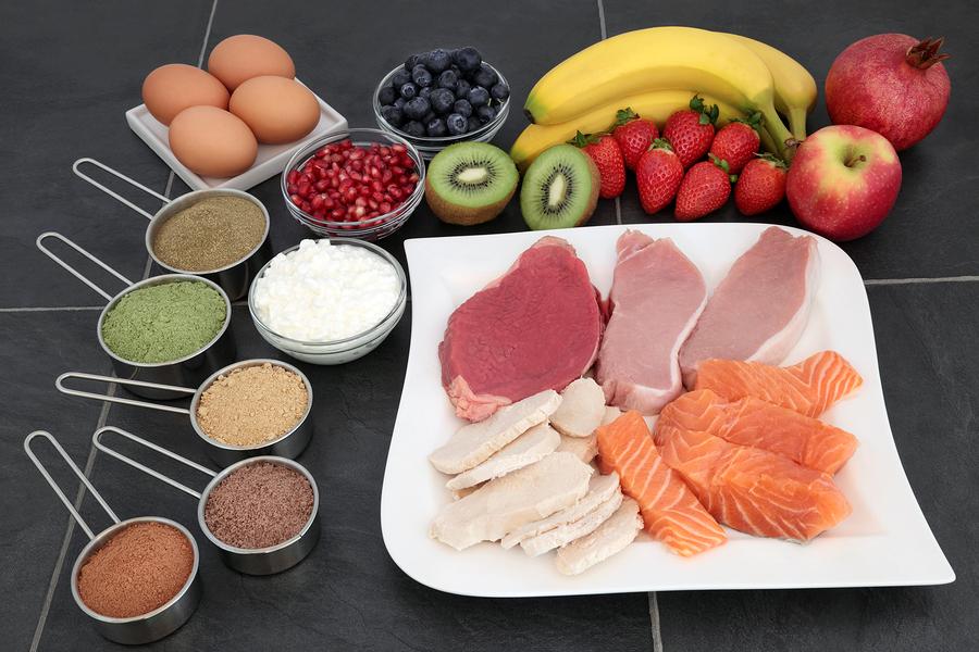 3 Lebensmittel für den Muskelaufbau  I ©Bigstockphoto.com: ID: 185169574/marilyna